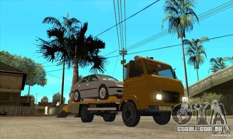 Caminhão de reboque Avia A31 para GTA San Andreas vista traseira