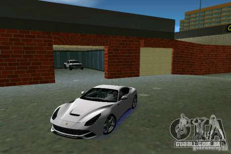 Ferrari F12 Berlinetta para GTA Vice City deixou vista