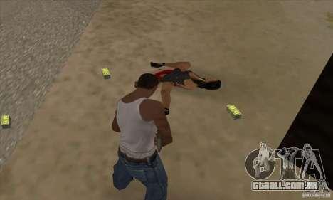 GTA SA Real ragdoll para GTA San Andreas terceira tela