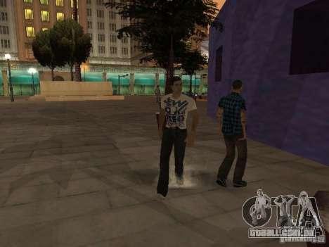 Black Stallion Peds para GTA San Andreas terceira tela