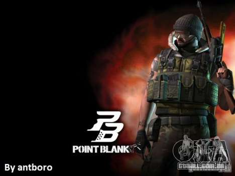 [Point Blank] Terrorist para GTA San Andreas