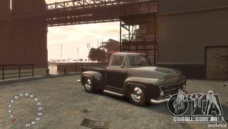 Declasse Hustler para GTA 4 traseira esquerda vista