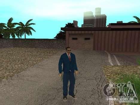 CJ Mafia Skin para GTA San Andreas quinto tela