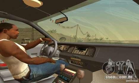 Ford Crown Victoria Pennsylvania Police para GTA San Andreas traseira esquerda vista