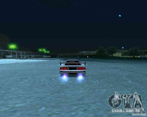 Azik Turismo para GTA San Andreas vista traseira