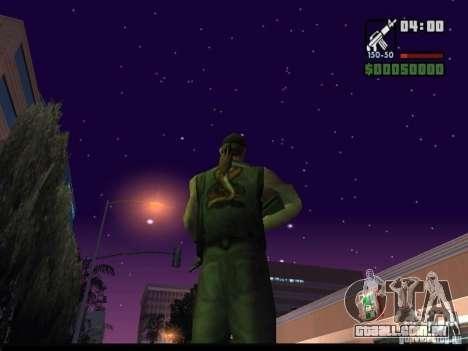 Céu estrelado v 2.0 (para SA: MP) para GTA San Andreas