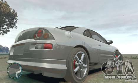 Mitsubishi Eclipse Spyder para GTA 4 traseira esquerda vista