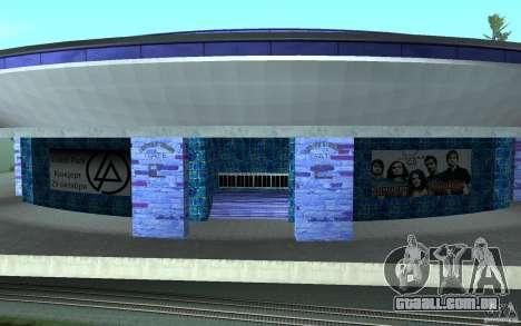 Um novo estádio em San Fierro para GTA San Andreas segunda tela