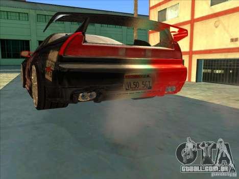 Acura NSX 1991 Tunable para as rodas de GTA San Andreas