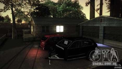 BEAM X5 Trailer para GTA San Andreas vista interior