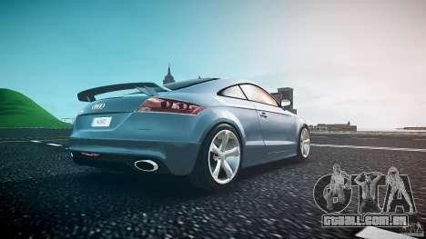 Audi TT RS 2010 para GTA 4 vista inferior