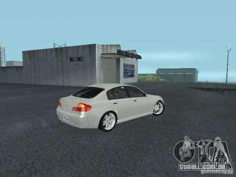 Nissan Skyline 300 GT para GTA San Andreas vista direita