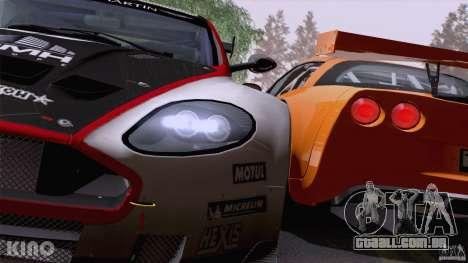 Aston Martin Racing DBRS9 GT3 para as rodas de GTA San Andreas
