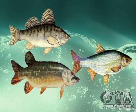 Novos peixes (água doce) para GTA San Andreas