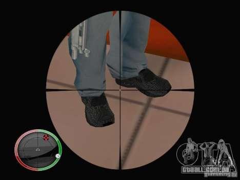 Nike Air Max para GTA San Andreas quinto tela