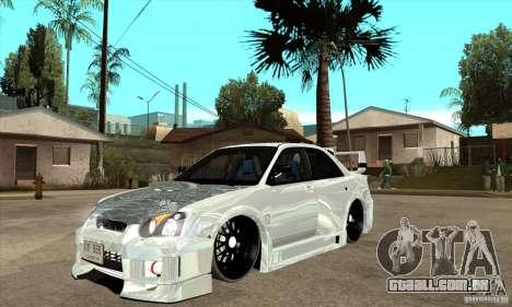 Subaru Impreza Tunned para GTA San Andreas