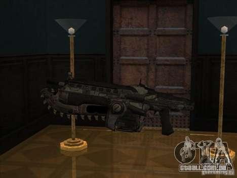 M4 de Gears of War para GTA San Andreas