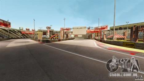Hazyview Eight Drift Map para GTA 4 quinto tela
