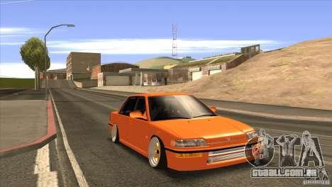 Honda Civic EF9 Sedan para GTA San Andreas vista direita