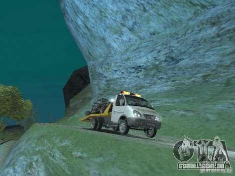 GAZ 3302 2003-2011. Caminhão de reboque para GTA San Andreas vista direita