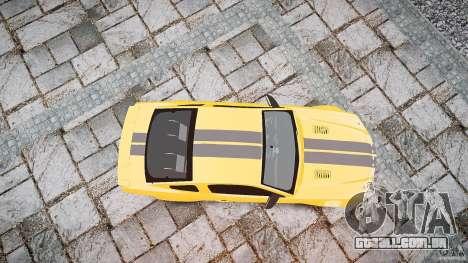 Shelby GT 500 KR 2008 K.I.T.T. para GTA 4 vista direita