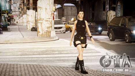 Angelina Jolie (Tomb Raider) para GTA 4 segundo screenshot