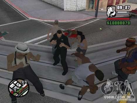 Você não pode bater as mulheres 2.0 para GTA San Andreas