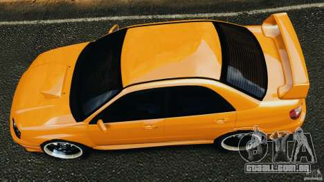 Subaru Impreza WRX STI 2005 para GTA 4 vista direita