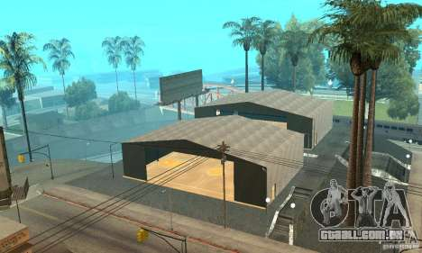 Basketball Court v6.0 para GTA San Andreas por diante tela