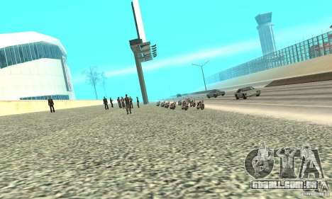 BikersInSa (os motociclistas em SAN ANDREAS) para GTA San Andreas segunda tela