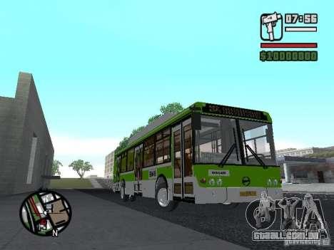 LIAZ 5292.70 para GTA San Andreas traseira esquerda vista