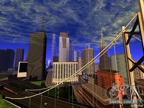 New San Fierro V1.4 para GTA San Andreas segunda tela