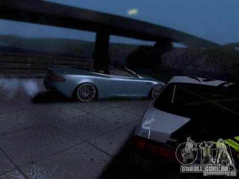 Aston Martin DB9 Volante 2006 para GTA San Andreas vista traseira