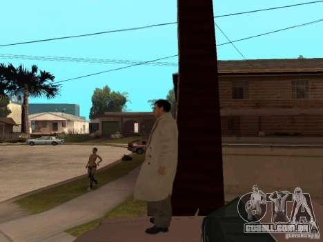 Joe Barbaro de Mafia 2 para GTA San Andreas por diante tela