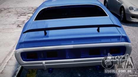Dodge Charger RT 1971 v1.0 para GTA 4 rodas