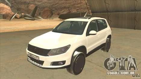 Volkswagen Tiguan 2012 v2.0 para GTA San Andreas