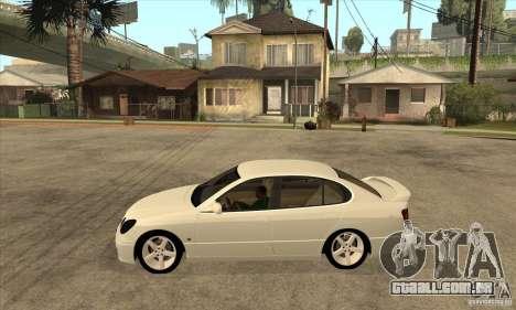 Lexus GS300 2003 para GTA San Andreas esquerda vista