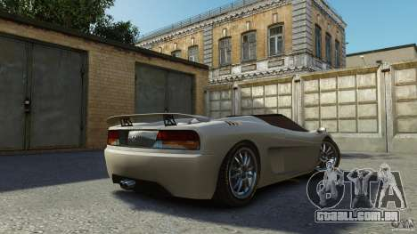 Turismo Spider para GTA 4 esquerda vista