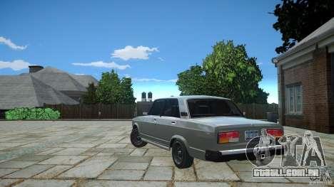 VAZ-2107 v 1.0 para GTA 4 vista direita