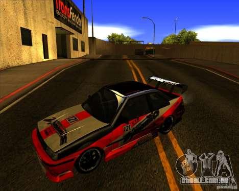 GTA VI Futo GT custom para GTA San Andreas vista direita