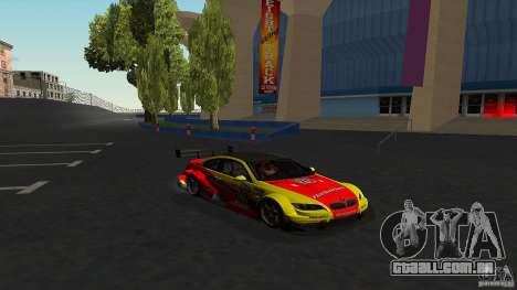 BMW E92 M3 para GTA San Andreas vista interior