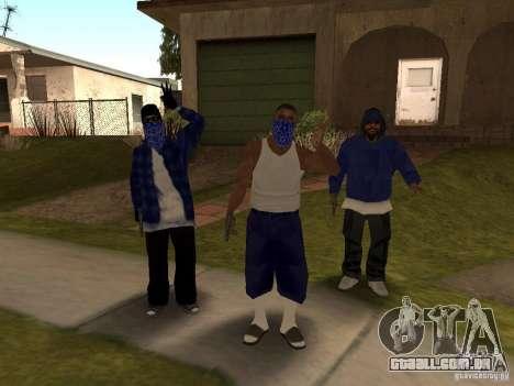 Crips Gang para GTA San Andreas segunda tela