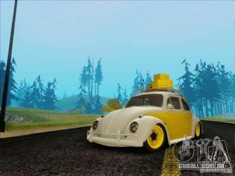 Volkswagen Beetle Edit para GTA San Andreas