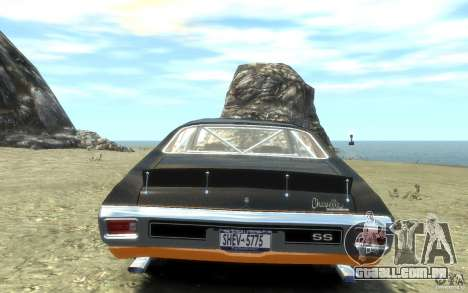 Chevrolet Chevelle SS 1970 para GTA 4 vista direita