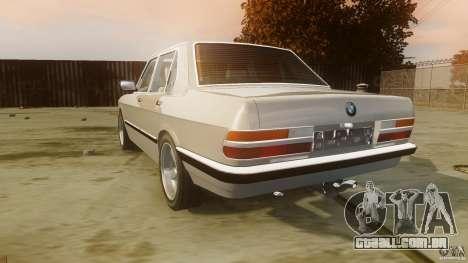 BMW 5-Series E28 para GTA 4 traseira esquerda vista