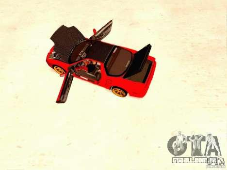 Acura NSX Stance Works para GTA San Andreas vista direita