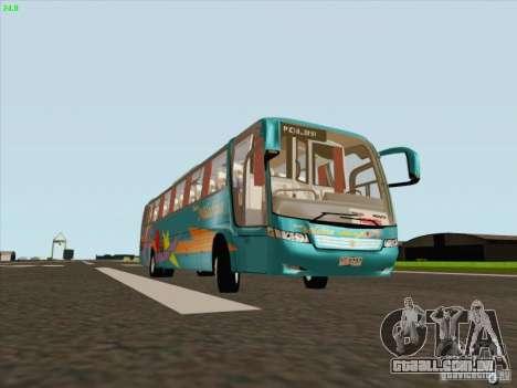 Mercedes-Benz Vissta Buss LO para GTA San Andreas esquerda vista