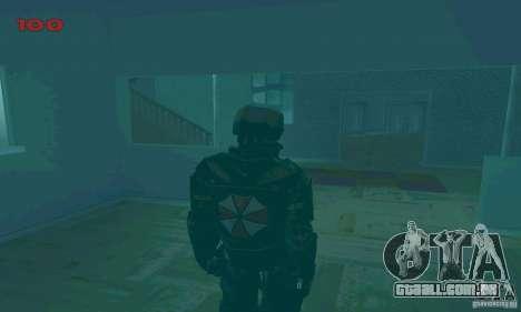 Selo de Ambrelly para GTA San Andreas sexta tela