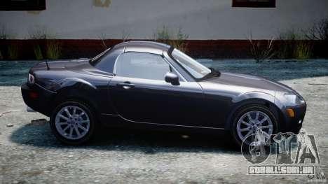 Mazda MX-5 para GTA 4 esquerda vista