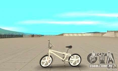Skyway BMX para GTA San Andreas esquerda vista